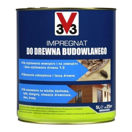 Impregnat do drewna budowlanego V33