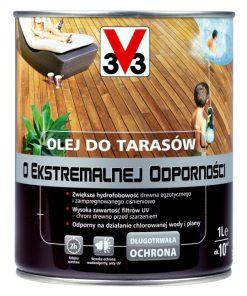 Olej do tarasów o ekstremalnej odporności V33