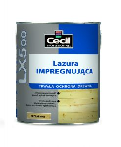 Lazura impregnująca LX500 Cecil
