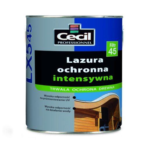 Lazura ochronna intensywna LX545 Cecil