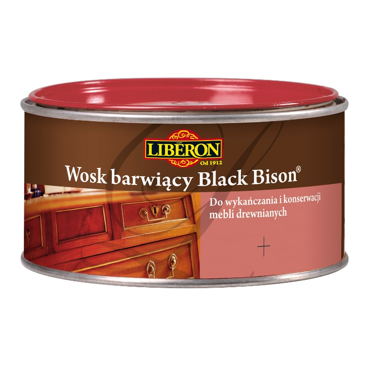 Wosk barwiący Black Bison LIBERON