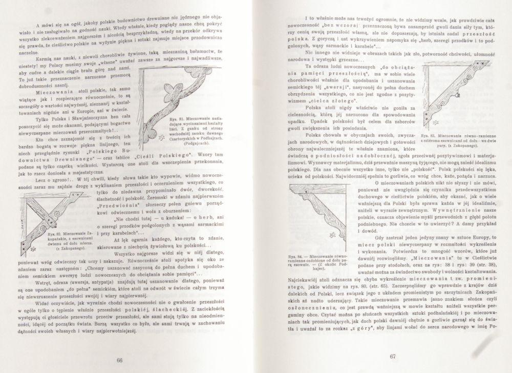 Cieślictwo polskie (Reprint 1930)