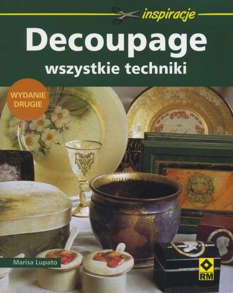 Decoupage - wszystkie techniki