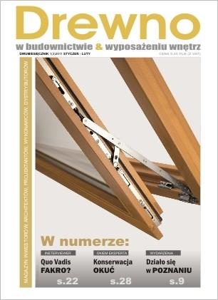 Drewno w budownictwie & wyposażeniu wnętrz nr 1/2011- ebook