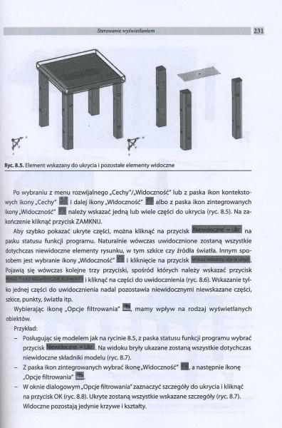Komputerowy zapis konstrukcji mebli w środowisku TopSolid