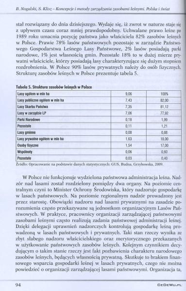 Koncepcje i metody zarządzania zasobami leśnymi