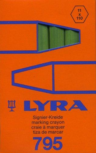 Stare opakowanie - Lubryka (kreda) Lyra Economy 795 zielona