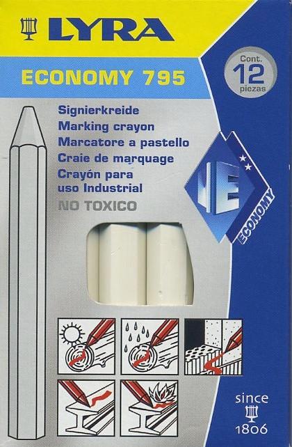 Lubryka (kreda) Lyra Economy 795 biała