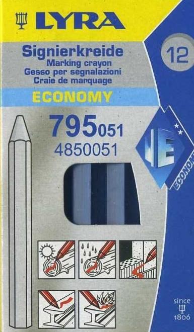 Lubryka (kreda) Lyra Economy 795 niebieska