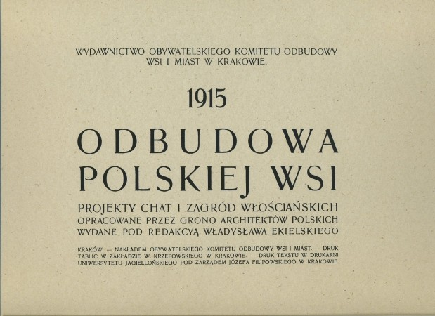 Odbudowa polskiej wsi