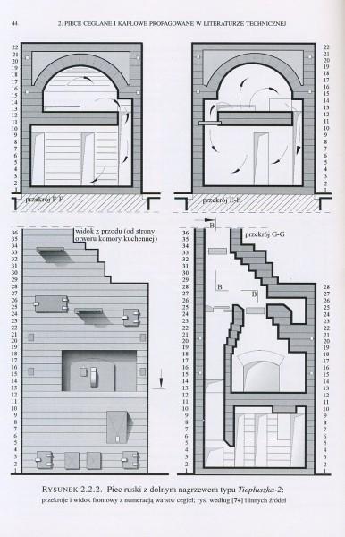 Piec ceglano-kaflowy we współczesnym domu