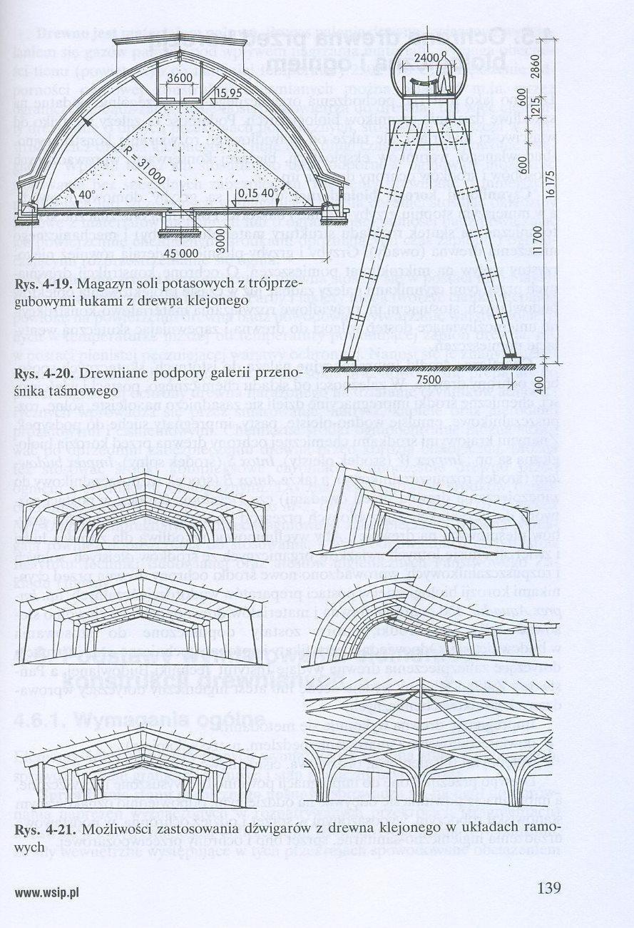 Posadowienie budowli, konstrukcje murowe i drewniane
