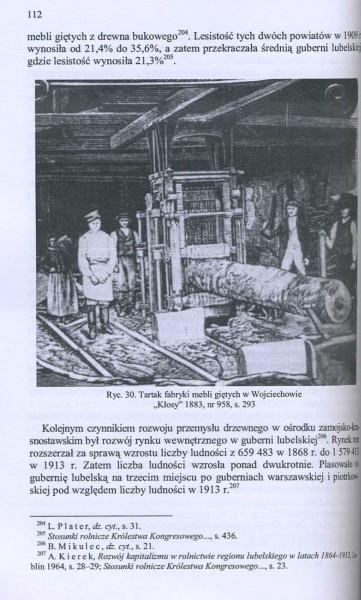 Rozwój przemysłu drzewnego Królestwa Polskiego w latach 1870-1914