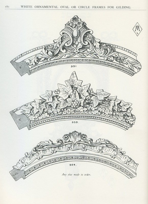 Victorian Wooden Molding and Frame Designs