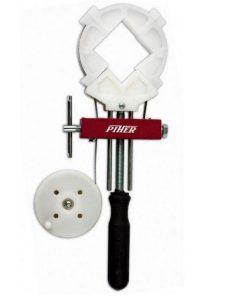 Ścisk z opaską stalową PIHER model-Szcześciokątny