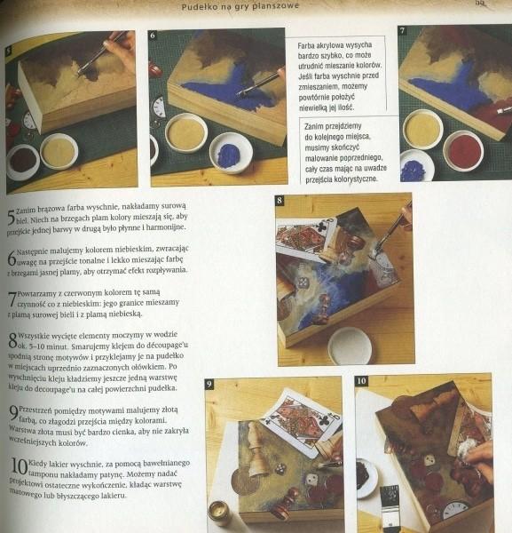 Dekoracyjne Malowanie Drewna Decoupage Bejcowanie Patynowanie