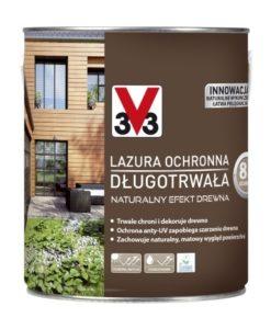 Lazura ochronna długotrwała V33 Naturalny efekt drewna