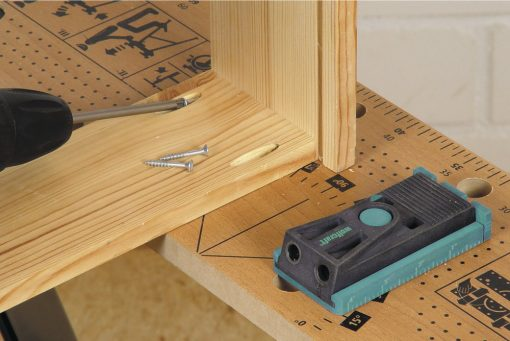 Zestaw Wolfcraft do wykonywania niewidocznych połączeń w drewnie