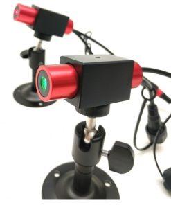 Laser liniowy Laserglow 20mW krzyżowy – zielony